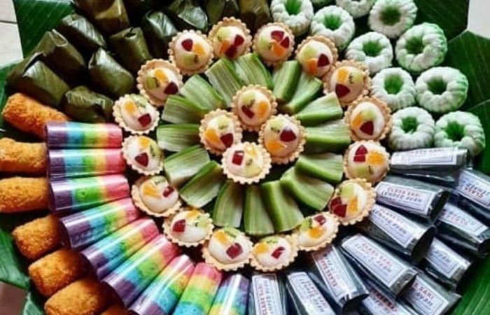 Contoh Kue Tradisional Indonesia Isian Snack Box Sederhana