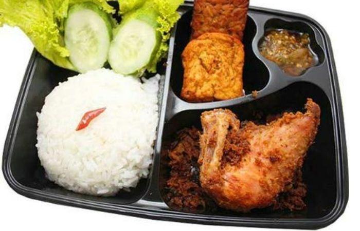 Nasi Bento Ayam Lengkuas