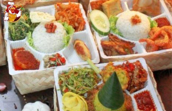 Nasi Besek Bali