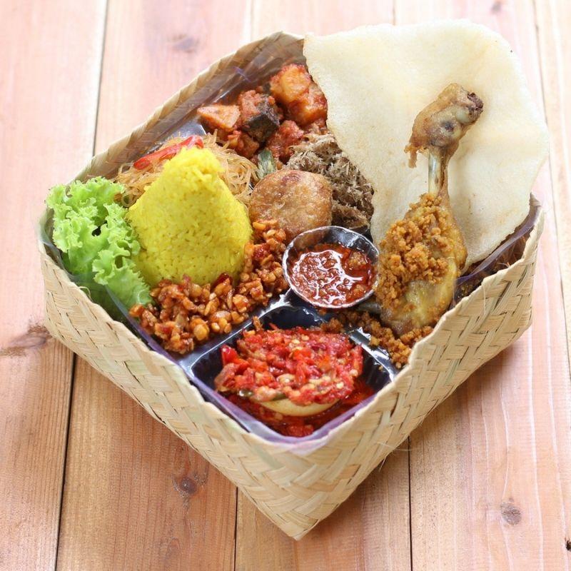 Catering Denpasar Nasi Besek Bali